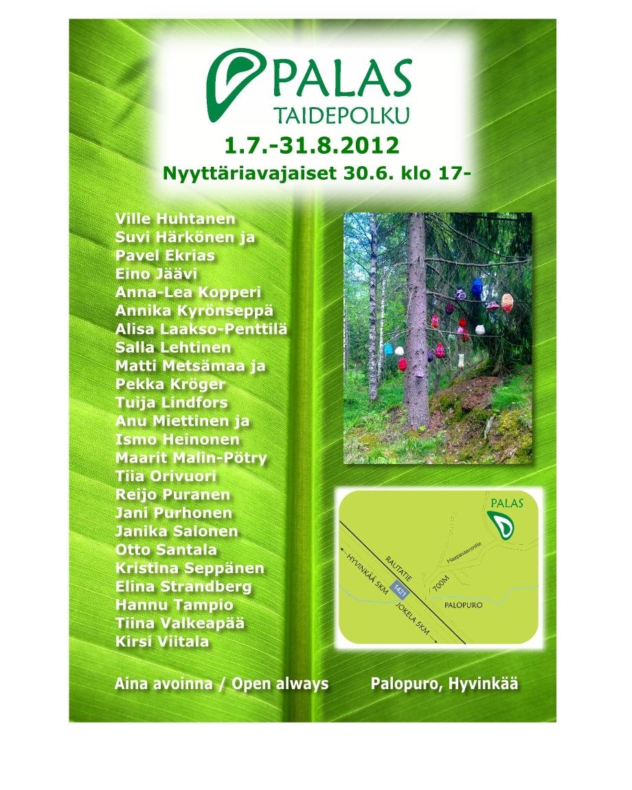 Palas Taidepolku 2012, environmental art exhibition
