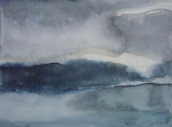 Kieto 4, Akvarelli 2010-2011, Anu Miettinen