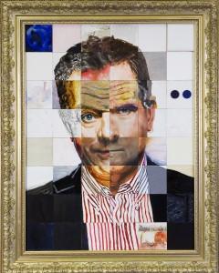 PUZZLED yhteisötaideteos muotokuva tasavallan presidentistä Sauli Niinistöstä 2011